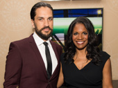 Who's a better hosting pair than Broadway couple Will Swenson and Audra McDonald?