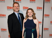 Come From Away's Tony-nominated songwriters David Hein and Irene Sankoff hit the red carpet.