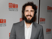 The Great Comet Tony nominee Josh Groban is all smiles for the MTC gala.
