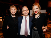 Tony winner Richard Maltby Jr. enjoys the party with his daughters Charlotte and Emily.