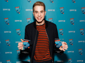Dear Evan Hansen Tony nominee Ben Platt hits the red carpet with his awards for Favorite Leading Actor in a Musical and Favorite Onstage Pair (with Laura Dreyfuss).
