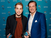 Ben Platt and John Gore snap a pic. What an amazing night! Thanks for voting!