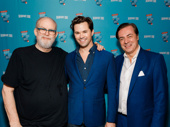 Falsettos mastermind William Finn, Tony nominee Andrew Rannells and John Gore get together.