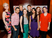 The Great Comet's standout hoofers snap a pic: Pearl Rhein, Andrew Mayer, Josh Canfield, Mary Spencer Knapp, Billy Joe Kiessling, Shoba Narayan, Courtney Bassett and Ani Taj. Congrats to all of the nominees! The winners will be announced on September 11.