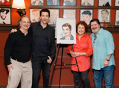 Karl reunites with On the Twentieth Century co-stars Mark Linn-Baker, Judy Kaye and Michael McGrath.