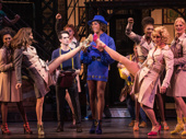 Brendon Urie, J. Harrison Ghee and the cast of Kinky Boots.