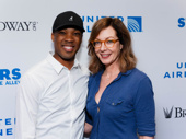 Six Degrees of Separation's Corey Hawkins and Allison Janney get together.