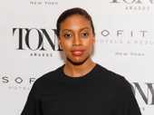A Doll's House, Part 2 Tony nominee Condola Rashad strikes a pose.