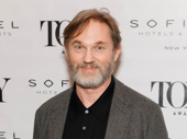 The Little Foxes Tony nominee Richard Thomas snaps a photo.