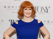Hello, Dolly! Tony nominee Kate Baldwin strikes a pose.