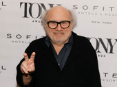 The Price Tony nominee Danny DeVito meets the press.