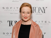 Oslo Tony nominee Jennifer Ehle hits the red carpet.