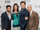 Falsettos Tony nominees Brandon Uranowitz, Stephanie J. Block, Andrew Rannells and Christian Borle unite.