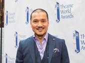 Talk about living the American Dream! Miss Saigon's Jon Jon Briones earned a Theatre World Award.
