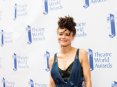 The Great Comet standout Amber Gray received a Theatre World Award.
