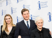 Sunset Boulevard's Siobhan Dillon, Preston Truman Boyd  and Glenn Close snap a group shot.