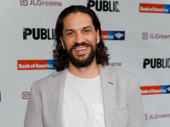 Tony nominee Will Swenson, who starred in the Public Theater production of Hair, looks sharp.