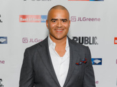 Hamilton Tony nominee Christopher Jackson suits up.