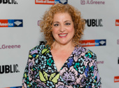 Tony nominee Mary Testa, who has appeared in numerous Public Theater productions, steps out.