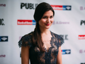 Hamilton Tony nominee Phillipa Soo works it on the red carpet. We can't wait to see what the Public produces next!