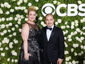 Miss Saigon's Jon Jon Briones and his wife Megan Johnson Briones