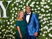 Christopher Jackson and his wife Veronica Vazquez-Jackson