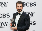 Oslo's Michael Aronov won the award for Best Featured Actor in a Play.