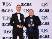 Gareth Fry and Pete Malkin were presented a Special Tony Award for their outstanding sound design in The Encounter.