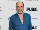 Oscar winner and Broadway vet F. Murray Abraham attends opening night of Julius Caesar.