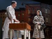 Erik Lochtefeld as Albert and Alyssa Bresnahan as Luda in Napoli, Brooklyn.