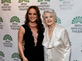 Tony nominee Melissa Errico snaps a pic with Broadway legend Angela Lansbury.