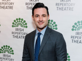 Tony nominee Max von Essen has arrived.