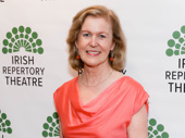 Ambassador of Ireland to the United States Anne Anderson attends the Irish Rep Theatre gala.