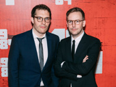1984's co-adaptors and co-directors Robert Icke and Duncan Macmillan.