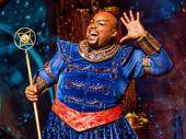 Major Attaway as Genie in Aladdin