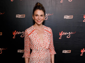 Sutton Foster gets glam for the Younger season premiere.