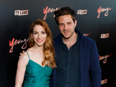 Younger's Molly Bernard and Ben Rappaport snap a pic.