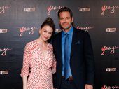 Ooh la la! Sutton Foster and Younger co-star Peter Hermann get together.