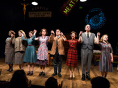 Bravo! Congrats to the cast of Napoli, Brooklyn on a successful opening night.