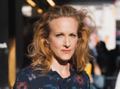 Two-time Tony winner Katie Finneran attends opening night of Marvin's Room on Broadway.