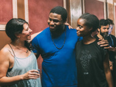 Onaodowan gets together with Great Comet director Rachel Chavkin and co-star Denée Benton.