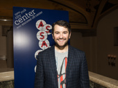Alex Brightman is all smiles for his opening night in Assassins.