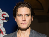 Assassins' Steven Pasquale works the red carpet.