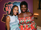 Nikki M. James snaps a sweet pic with original Bubbly Black Girl star LaChanze.