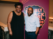 Bubbly Black Girl creator Kirsten Childs and director Robert O'Hara take a photo.