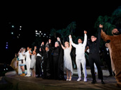 What delightful fools these mortals be! The cast of A Midsummer Night's Dream takes their opening night bow.