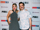 A Midsummer Night's Dream's Annaleigh Ashford and her husband Joe Tapper get together.