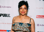 A Midsummer Night's Dream queen Phylicia Rashad is on the scene.