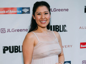 Tony winner Ruthie Ann Miles strikes a pose.