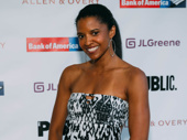 Tony winner Renée Elise Goldsberry has arrived.